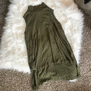 NWOT Anthropologie Olive Tunic